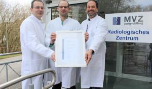 Radiologie am Diakonie Klinikum Jung-Stilling zertifiziert
