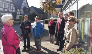 April, April Stadtführung mit Rosel Six in Hilchenbach
