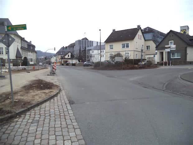 """Photo of Jetzt geht's """"rund"""" in der Attendorner Innenstadt"""