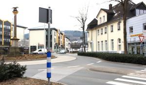Attendorn: Teilsperrung des Kreisverkehrs am Samstagmorgen