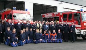 Arnsberg: Neues Gerätehaus des Basislöschzugs 6 eingesegnet