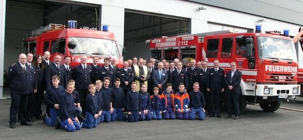 Photo of Arnsberg: Neues Gerätehaus des Basislöschzugs 6 eingesegnet