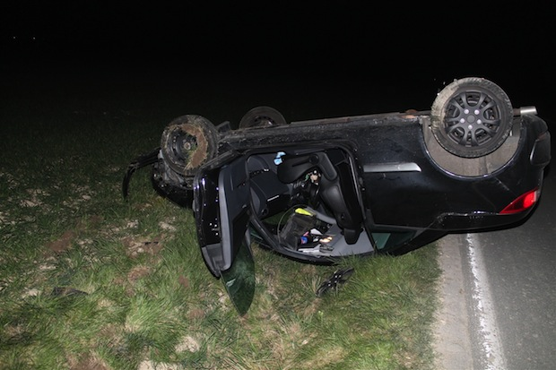 Photo of Anröchte: Fahrzeug überschlug sich