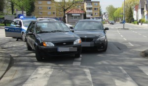 Soest – Fahrzeuge stießen auf Kreuzung zusammen
