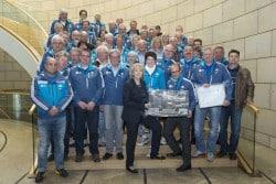 <b>Winterberg: 60 Helfer/innen der Bob- und Skeleton-WM 2015 informieren sich auf Einladung von Ministe...</b>