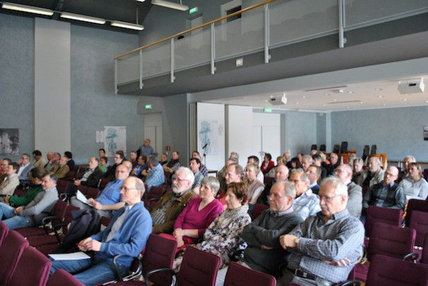Rund 80 Interessierte waren ins Bürger- und Rathaus gekommen, um sich über den aktuellen Sachstand zu informieren. Bild: Gemeinde Bestwig