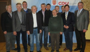 Ehrungen beim CDU-Stadtverband Marsberg