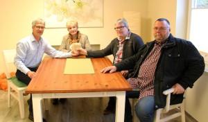 Siegen: Der Sozialverband VdK Eisern-Rinsdorf-Obersdorf unterstützt mit 500 Euro das Ev. Hospiz Siegerland