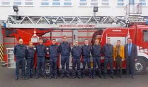 Neuer Einstellungsjahrgang in der Feuer- und Rettungswache der Stadtverwaltung Lüdenscheid