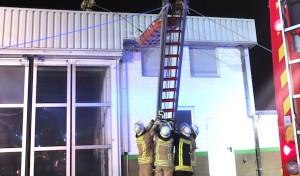 Lippstadt: Feuerwehr und THW stellen bei Übung hohen Leistungsstand unter Beweis