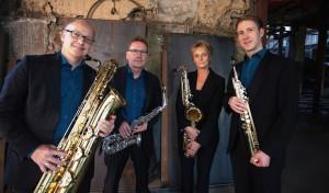 Attendorn: Pindakaas Saxophon Quartett in der Kapelle des Collegium Bernardinum