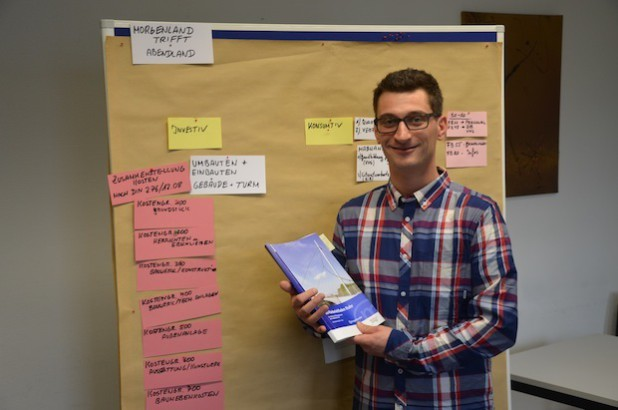 Michael Trampler, Student der Fachhochschule Südwestfalen, bescherte der Stadt Hagen durch seinen Antrag einen in dieser Höhe nicht erwarteten Geldsegen. Quelle: Fachhochschule Südwestfalen