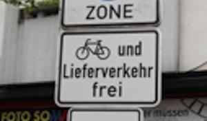Geseke: Radfahren in der Fußgängerzone