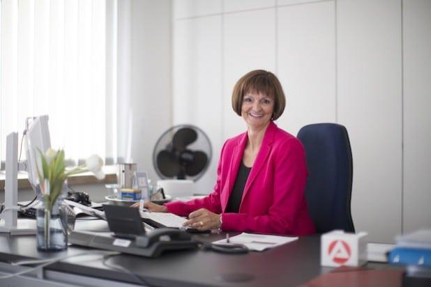 Dr. Bettina Wolf, Vorsitzende der Geschäftsführung der Agentur für Arbeit Siegen. Quelle: Agentur für Arbeit Siegen