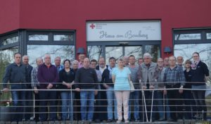 Blutspenderehrung in Marsberg: Karl-Heinz Ebert für 125maliges Blutspenden geehrt