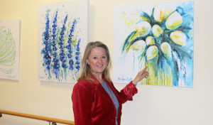 Barbara Varnholt zeigt ihre Werke im Diakonie Klinikum Bethesda