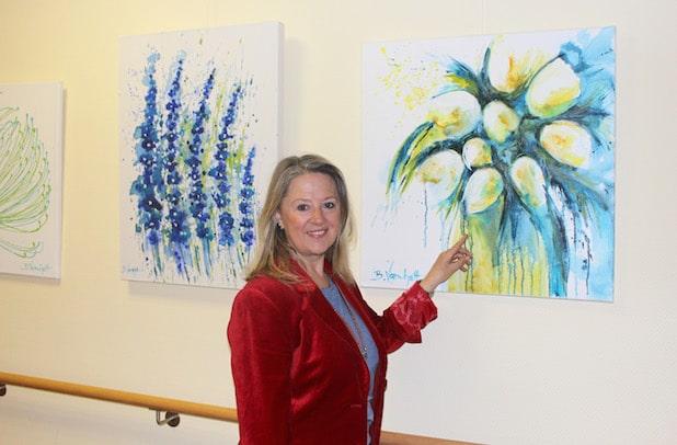 Photo of Barbara Varnholt zeigt ihre Werke im Diakonie Klinikum Bethesda