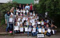 """Freudenberg: 41 Oberfischbacher Grundschüler als """"Energiespardetektive"""" ausgezeichnet"""