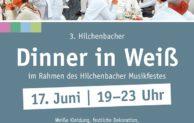 """Am 17. Juni 2016 heißt es wieder: """"Dinner in Weiß"""" in Hilchenbach"""