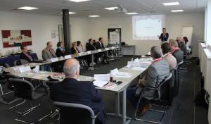 Lüdenscheid: Think Tank der Südwestfalen Agentur bei Phoenix Feinbau mit zahlreichen Themen