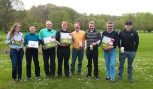 Golfen für den guten Zweck – GC Werl spielt 2500 Euro für Krebshilfe ein
