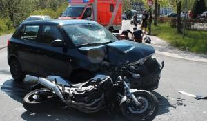 Schwerer Motorradunfall in Lennestadt-Gleierbrück