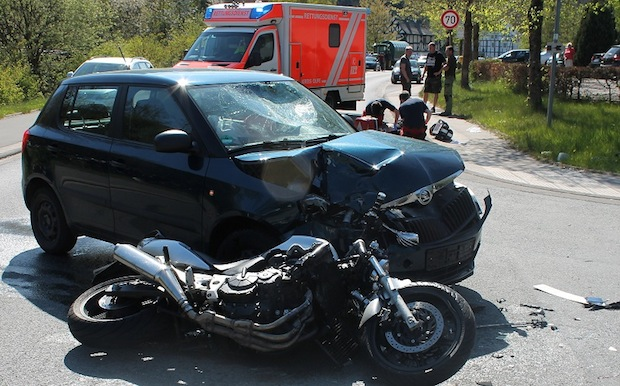 Photo of Schwerer Motorradunfall in Lennestadt-Gleierbrück