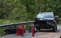 Lennestadt: Verkehrsunfall mit schwer verletztem Motorradfahrer