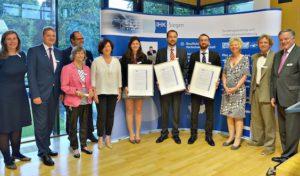 31. IHK-Preis: Herausragende wissenschaftliche Arbeiten geehrt in Siegen