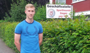 SFS nimmt Benedikt Zahn unter Vertrag