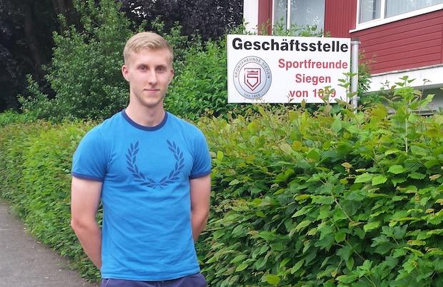 Photo of SFS nimmt Benedikt Zahn unter Vertrag
