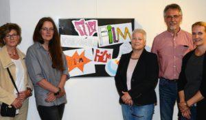 Soest: Ausstellung über Trickfilmprojekt der Clarenbachschule im Kreishaus eröffnet