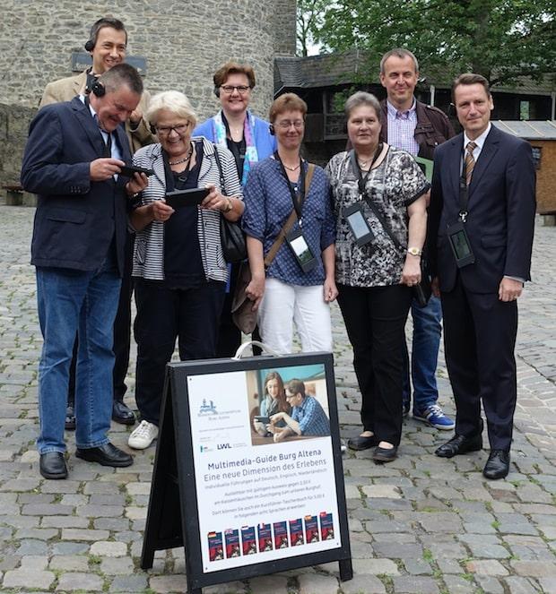 Photo of 50 Multimedia-Guides für die Museen Burg Altena