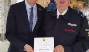 Markus Schwarze leitet die Burbacher Feuerwehr