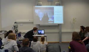 Menden: Gesamtschule skypt mit Iran