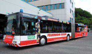 Drei Jahre Rettungsbus der VWS Siegen – Bus kam sieben Mal zum Einsatz