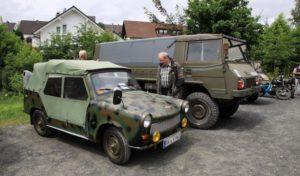 Freudenberg: Treffen historischer Militärfahrzeuge