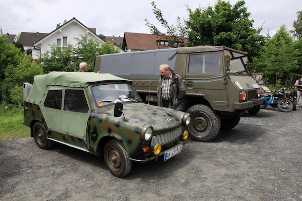 Photo of Freudenberg: Treffen historischer Militärfahrzeuge