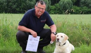 Rettungshund – Prüfung zum wiederholten Mal bestanden