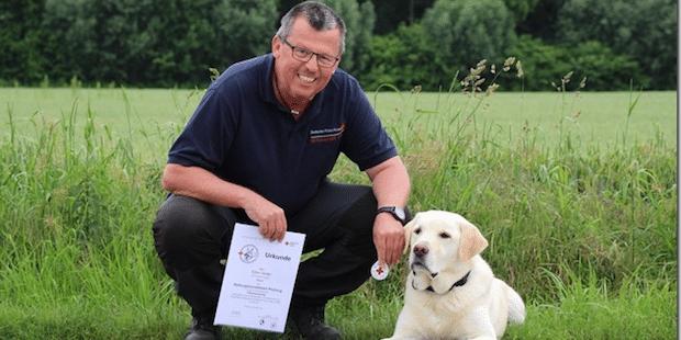Photo of Rettungshund – Prüfung zum wiederholten Mal bestanden