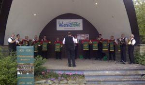 Das längste spielfähige Alphorn der Welt zum Musiksommer in Winterberg