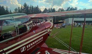 Wenden: Flugzeugmotoren und Himmel donnerten gleichermaßen