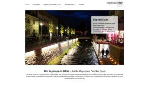 """Olpe: Internetseite """"regionen.nrw"""" mit Südwestfalen jetzt online"""