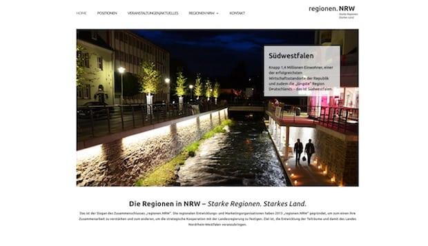 """Photo of Olpe: Internetseite """"regionen.nrw"""" mit Südwestfalen jetzt online"""