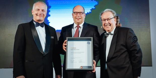"""Photo of Auszeichnung im """"VW Forum der Besten"""""""