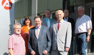Iserlohner Arbeitsagentur verabschiedet langjährige Mitglieder des Verwaltungsausschusses