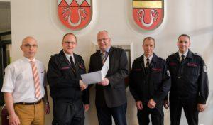 Christian Bongard zum Leiter der Feuerwehr Menden ernannt