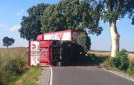 Werl: Vollsperrung nach LKW Unfall