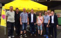 Gemeinsamer Infostand von FDP und CDU Meinerzhagen