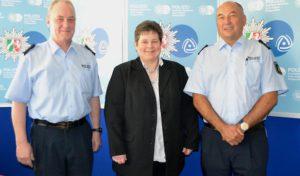 Siegen: Tanja Wagener (SPD-MdL) im Gespräch mit der Kreispolizeibehörde